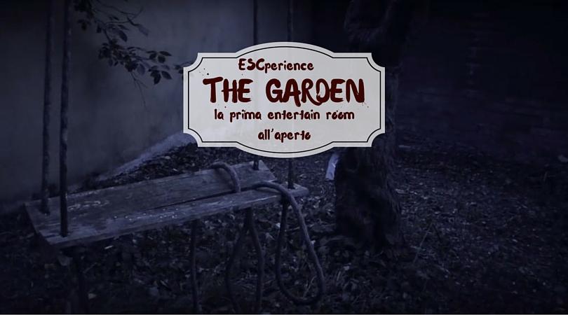 entertain room all'aperto THE GARDEN
