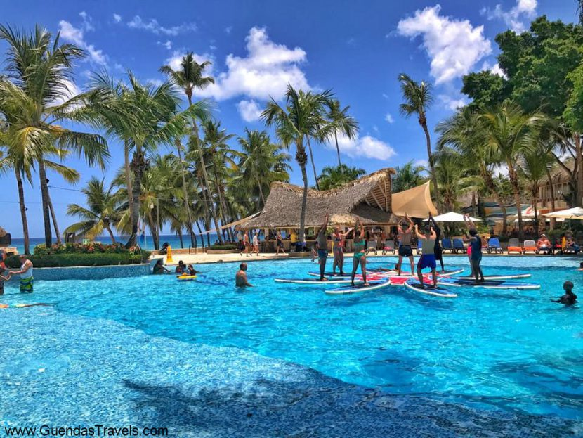 attività al Viva Dominicus paddle fitness