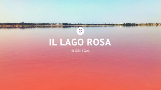 lago rosa in senegal